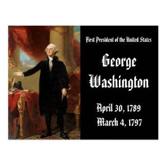 1st President Of the United States George Washingt Postcard