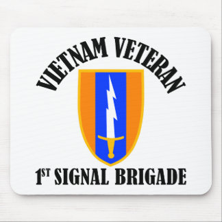 1st Sig Bde - Vietnam Veteran Mouse Pad