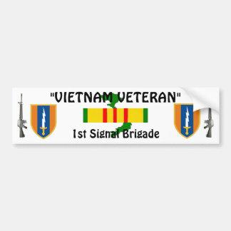 1st Signai Brigade bumper sticker