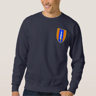 1st Signal Brigade Shoulder Patch Sweatshirt