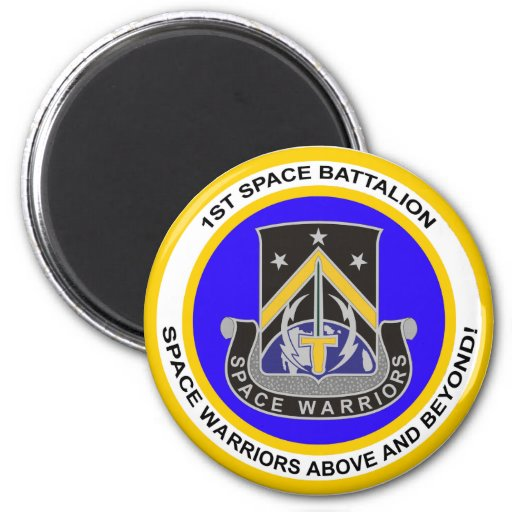 1st Space Battalion Fridge Magnet