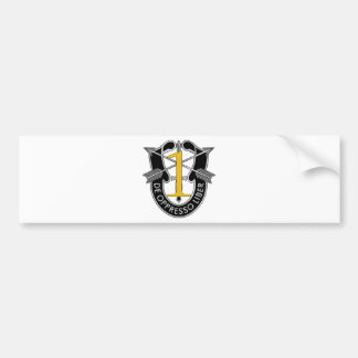 1st Special Forces Group Crest Bumper Stickers