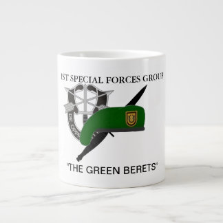 1ST SPECIAL FORCES GROUP JUMBO MUG