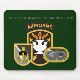 1ST SPECIAL WARFARE TRAINING GROUP MOUSEPAD
