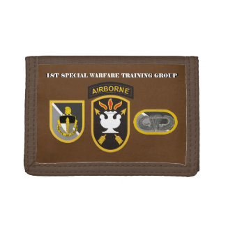 1ST SPECIAL WARFARE TRAINING GROUP WALLET