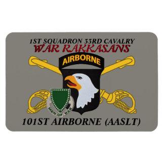 1ST SQN 33D CAV 101ST AIRBORNE MAGNET