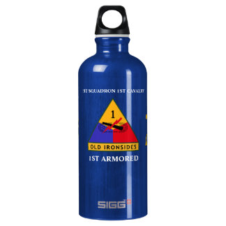 1ST SQUADRON 1ST CAVALRY 1ST ARMORED BOTTLE SIGG TRAVELLER 0.6L WATER BOTTLE