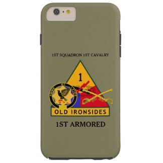 1ST SQUADRON 1ST CAVALRY 1ST ARMORED CASE TOUGH iPhone 6 PLUS CASE