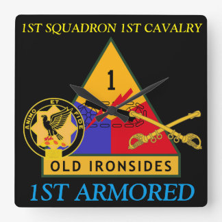 1ST SQUADRON 1ST CAVALRY 1ST ARMORED CLOCK