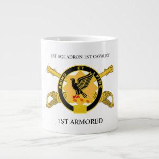 1ST SQUADRON 1ST CAVALRY 1ST ARMORED MUG JUMBO MUG