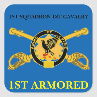 1ST SQUADRON 1ST CAVALRY 1ST ARMORED STICKERS