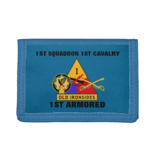 1ST SQUADRON 1ST CAVALRY 1ST ARMORED WALLET