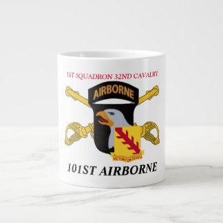 1ST SQUADRON 32ND CAVALRY 101ST AIRBORNE MUG JUMBO MUG