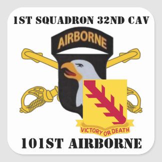 1ST SQUADRON 32ND CAVALRY 101ST AIRBORNE STICKERS