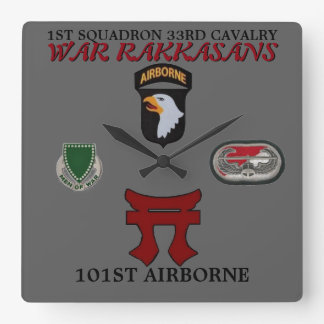 1ST SQUADRON 33RD CAVALRY 101ST AIRBORNE CLOCK