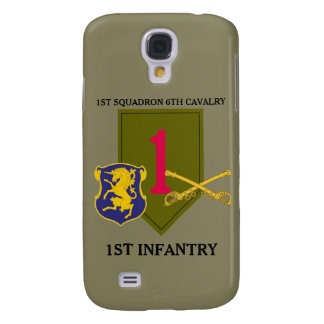 1ST SQUADRON 6TH CAVALRY 1ST INFANTRY CASE GALAXY S4 COVERS