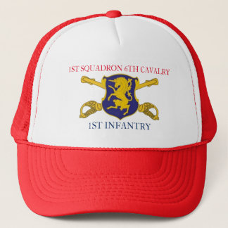 1ST SQUADRON 6TH CAVALRY 1ST INFANTRY HAT