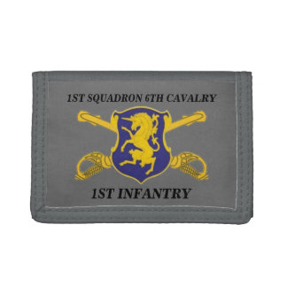 1ST SQUADRON 6TH CAVALRY 1ST INFANTRY WALLET
