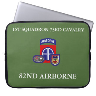 1ST SQUADRON 73RD CAVALRY LAPTOP SLEEVE