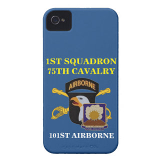 1ST SQUADRON 75TH CAVALRY 101ST ABN iPHONE CASE iPhone 4 Case-Mate Cases