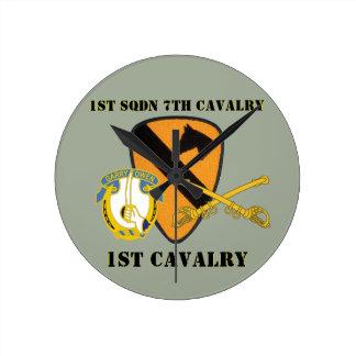 1ST SQUADRON 7TH CAVALRY 1ST CAVALRY CLOCK