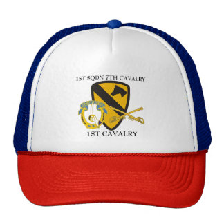 1ST SQUADRON 7TH CAVALRY 1ST CAVALRY HAT