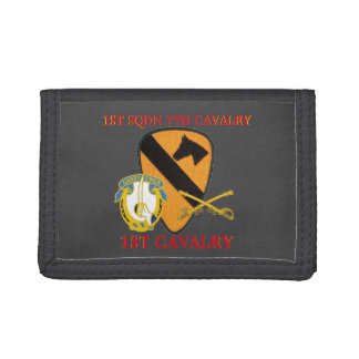1ST SQUADRON 7TH CAVALRY 1ST CAVALRY WALLET