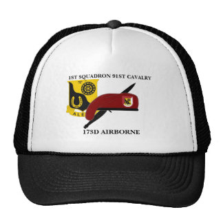1ST SQUADRON 91ST CAVALRY 173D AIRBORNE HAT