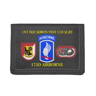 1ST SQUADRON 91ST CAVALRY 173D AIRBORNE WALLET