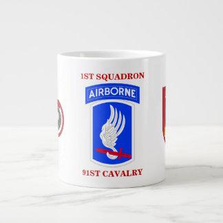 1ST SQUADRON 91ST CAVALRY JUMBO MUG