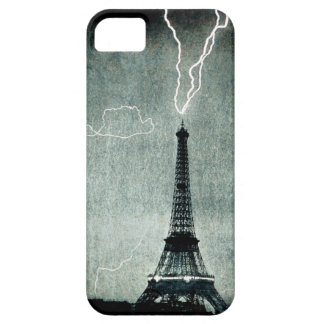 1st Strike - Lightning hits Eiffel Tower 1902 Barely There iPhone 5 Case