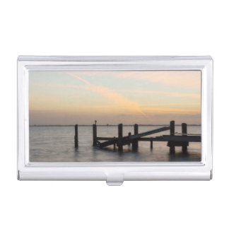 1st Sunset 2017 Cocoa Beach Business Card Holder