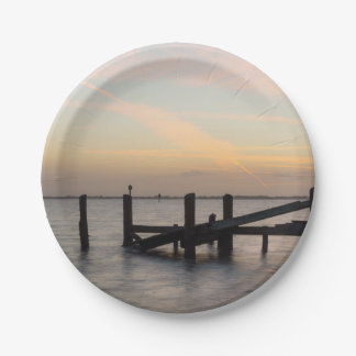 1st Sunset 2017 Cocoa Beach Paper Plate