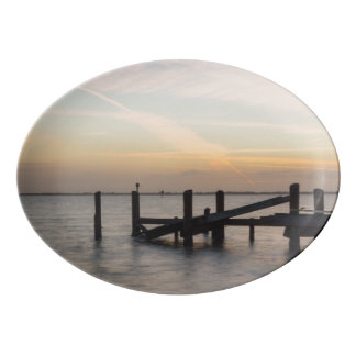 1st Sunset 2017 Cocoa Beach Porcelain Serving Platter