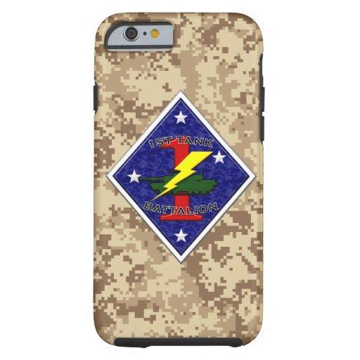 1st Tank Battalion - 1st Marine Division iPhone 6 Case