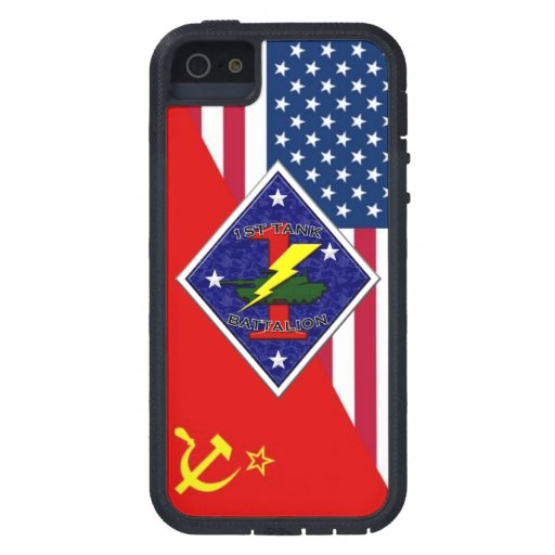 1st Tank Battalion - 1st Marine Division Cold War iPhone 5 Covers