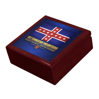 1st Tennessee Infantry (F10) Large Square Gift Box