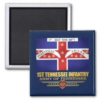 1st Tennessee Infantry Magnet