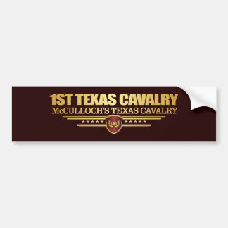 1st Texas Cavalry Bumper Sticker