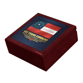 1st Texas Cavalry Large Square Gift Box