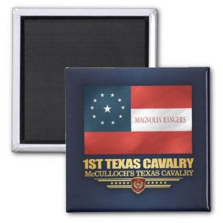 1st Texas Cavalry Magnet