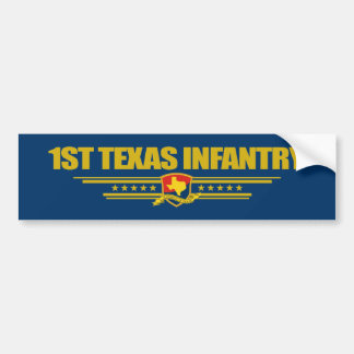 1st Texas Infantry Bumper Stickers