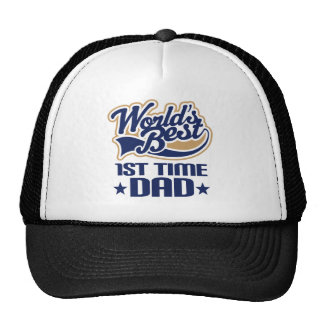 1st Time Dad New Dad Gift Idea Cap