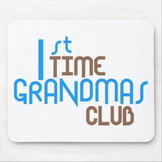 1st Time Grandmas Club (Blue) Mouse Mats