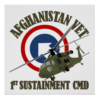 1st TSC - Afghanistan Poster