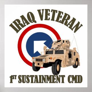 1st TSC Vet - Iraq Posters