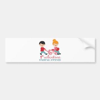 1st Valentines Day Together Bumper Sticker