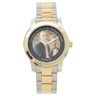 1st Wedding Anniversary unique unusual custom Watch