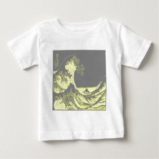 1thegreatwaveredblackbig-003 baby T-Shirt