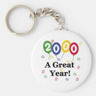 2000 A Great Year Birthday Keychains
